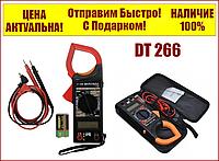 Мультиметр-тестер токоизмерительные клещи DT 266