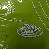 Cиликоновый коврик для выпечки 40CM*30CM Салатовый, фото 5