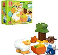 """Конструктор """"Happy Farm: ферма"""", 11 деталей M38-B6015"""