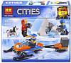 """Конструктор """"Cities: полярники"""", 88 дет 10992"""