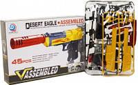 """Пистолет-конструктор """"Desert Eagle"""", 45 деталей 777A, 777A-2"""