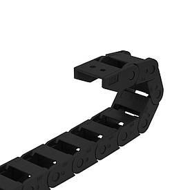 Гибкий кабель-канал (кабелеукладчик) 10х15, открытый