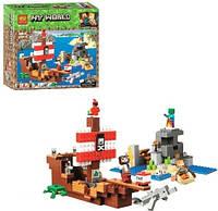 """Конструктор """"My World Minecraft: Пиратский корабль"""", 404 дет 11170"""