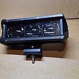 Светодиодная фара балка линзованная 30W с СТГ, фото 2