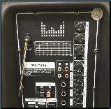 Колонка акумуляторна з мікрофоном ZPX ZX-7766 200W (Bluetooth/USB/FM/TWS), фото 6