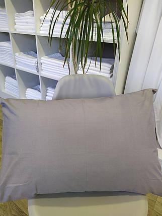 Наволочки 50х70 Ранфорс, Серые - 2шт, фото 2