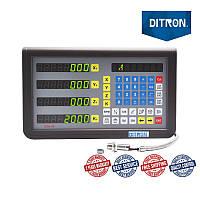 4 оси RPM TTL 5 вольт LED дисплей устройство цифровой индикации D70-4