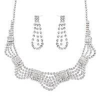 """Набор эксклюзивной бижутерии ожерелье+серьги """"Восторг"""""""