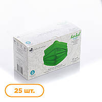 Защитная маска Abifarm Herbal Fresh с эфирными маслами, ароматическая, трехслойная, 25 шт.