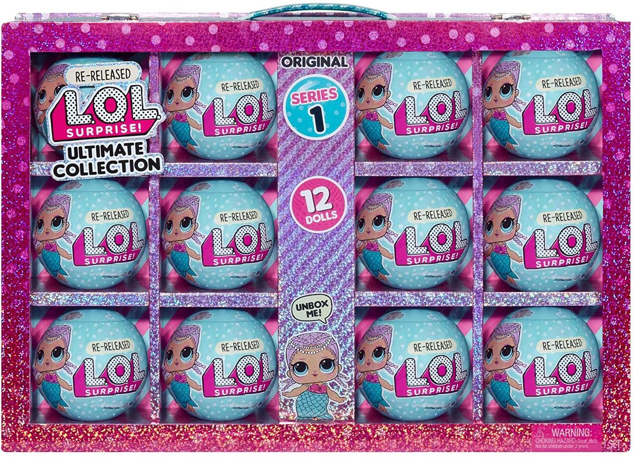 Кукла ЛОЛ Сюрприз! Коллекция Мербеби-12 кукол Серия 1 LOL Surprise Ultimate Collection Merbaby MGA 571520