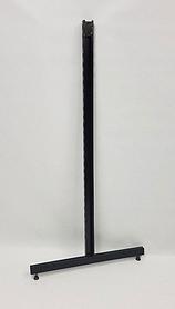Рейка-опора h1.48 двурядная, островная черная