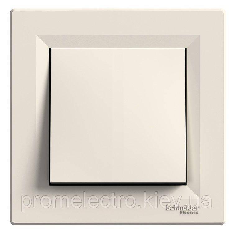 Переключатель Schneider-Electric Asfora 1-клавишный перекрестный кремовый (EPH0500123)