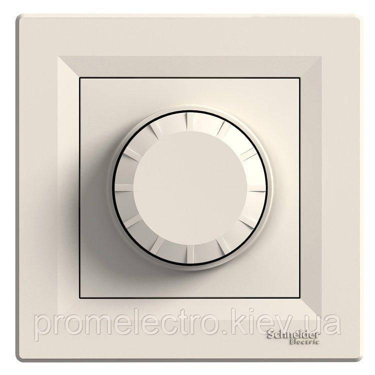 Диммер Schneider-Electric Asfora поворотный 20-315 Вт кремовый (EPH6600123)