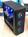 Игровой компьютер Oberon (GX912) Intel Core i7-4790 RAM 16GB SSD 120GB+ HDD 1TB  PCI RX 570 4GB, фото 3