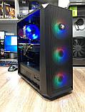 Игровой компьютер Oberon (GX912) Intel Core i7-4790 RAM 16GB SSD 120GB+ HDD 1TB  PCI RX 570 4GB, фото 2