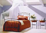 Кованая кровать односпальная. Ручная ковка, фото 5