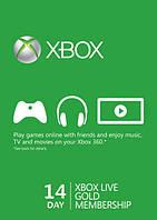Карта оплати Xbox Live Gold - 14 днів Xbox 360/One/Series
