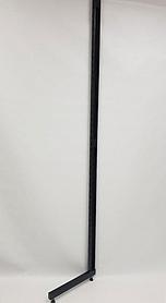 Рейка-опора h2.2двурядная, прис-ная черная