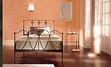 Кованая кровать односпальная. Ручная ковка, фото 2