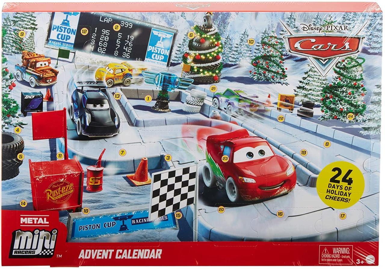 Адвент календарь Тачки 3 Disney Pixar Cars Minis Advent Calendar от Mattel GPG11