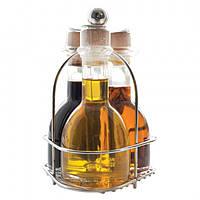 """Набор """"Маргарита"""": масло оливковое E.V., масло оливковое E.V. с острым перцем и уксус бальзамический 300мл"""
