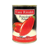 Помидоры очищенные в собственном соку Casa Rinaldi 400г