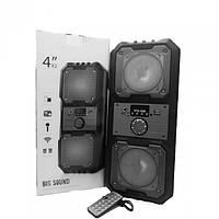 Портативная Мобильная Bluetooth колонка Kts 1048 Чёрная