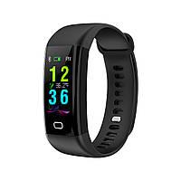 Умный фитнес браслет Lemfo F07 Health с измерением температуры (Черный)