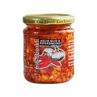 Соус с чесноком, оливковым маслом и острым перчиком Casa Rinaldi 190г