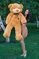 Большой медведь тедди 140 см карамельный
