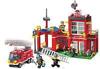 Конструктор детский Brick Пожарная тревога 910