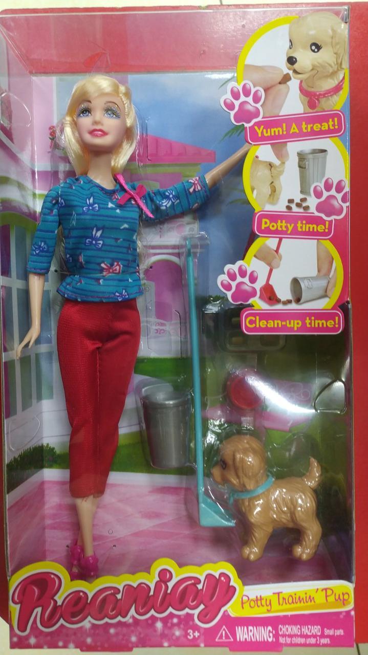 Кукла Типа Барби Reaniay Potty Training Pup
