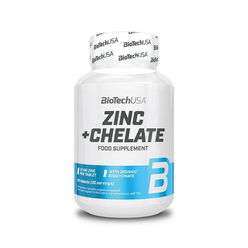 BioTech USA Zinc + Chelate 60 таблеток