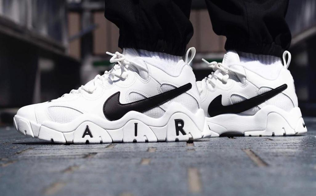 "Кроссовки Nike Air Barrage ""Белые"""