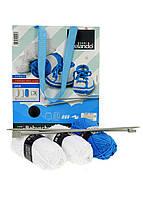 Набор для вязания детских пинеток для мальчика--
