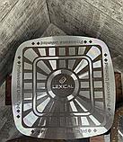 Набор кастрюль 22/26/30см LEXICAL антипригарное гранитное покрытие, 6 предметов, Choco, фото 4