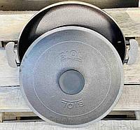 Сковорода -жаровня чугунная с крышкой 34 см Биол 1734К, фото 1