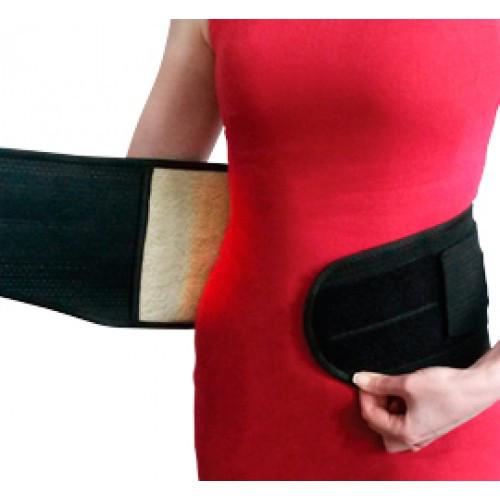 Бандаж підтримуючий з овечою шерстю з 4 ребрами жорсткості КПО-4Мм