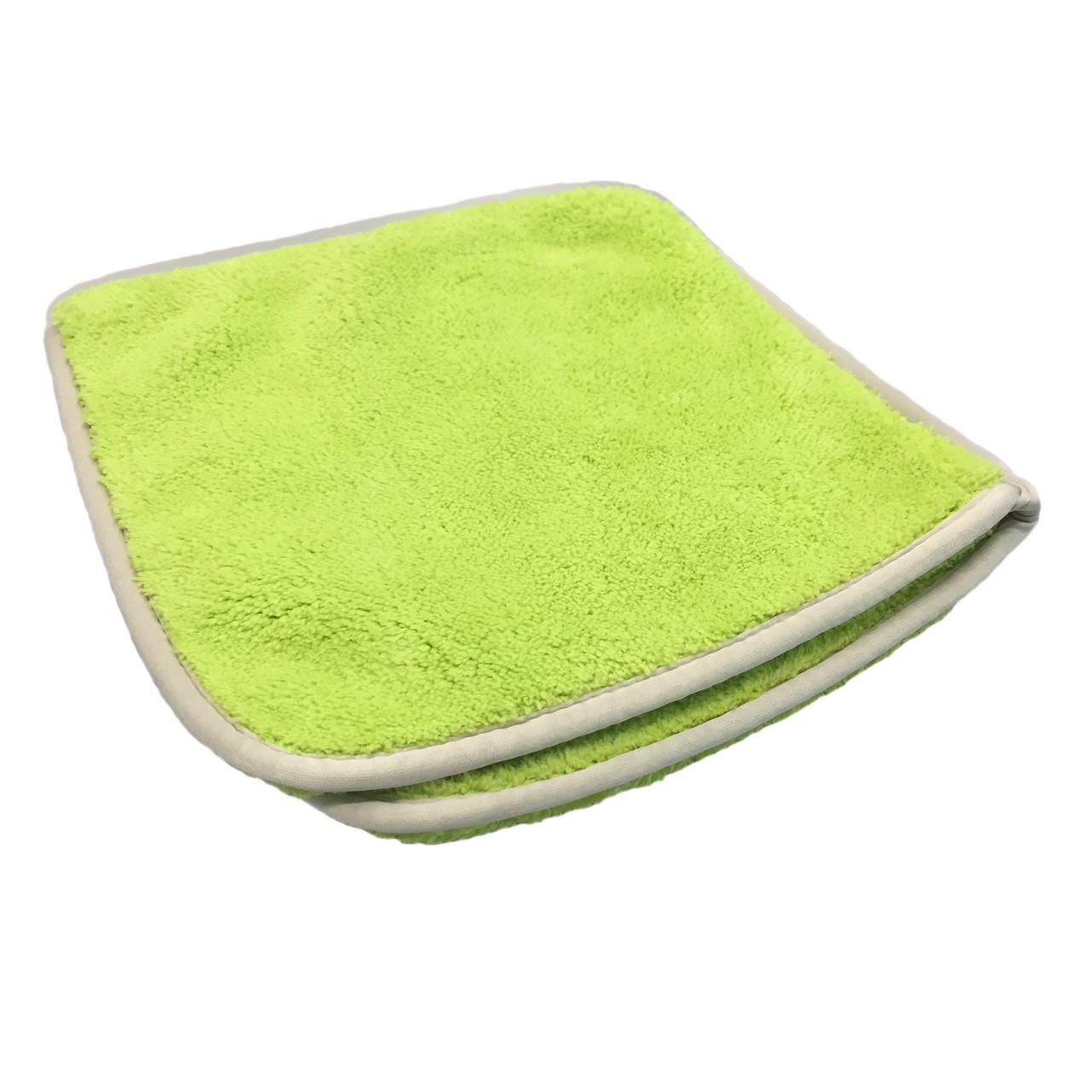 Полотенце-рукавица для сушки - Autofiber Double Flip 20х20 см. 1100 gsm зеленое (T2FLIP1100GM-3)
