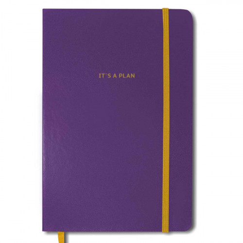 Планер It's a plan. Фиолетовый #I/F