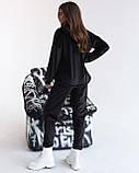 Костюм женский спортивный из теплого плюша осень-зима, разные цвета р.44-46,48-50,52-54 Код 1121В, фото 8
