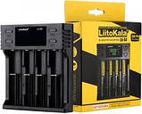 LiitoKala Lii-S4 Оригинальное Зарядное устройство Smart Charger 5V/2A+LSD (Li-ion, NiMh, NiCd, LiFePO4), фото 2