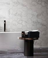 30х60 Керамическая плитка стена Fusion Фьюжн серый, фото 1