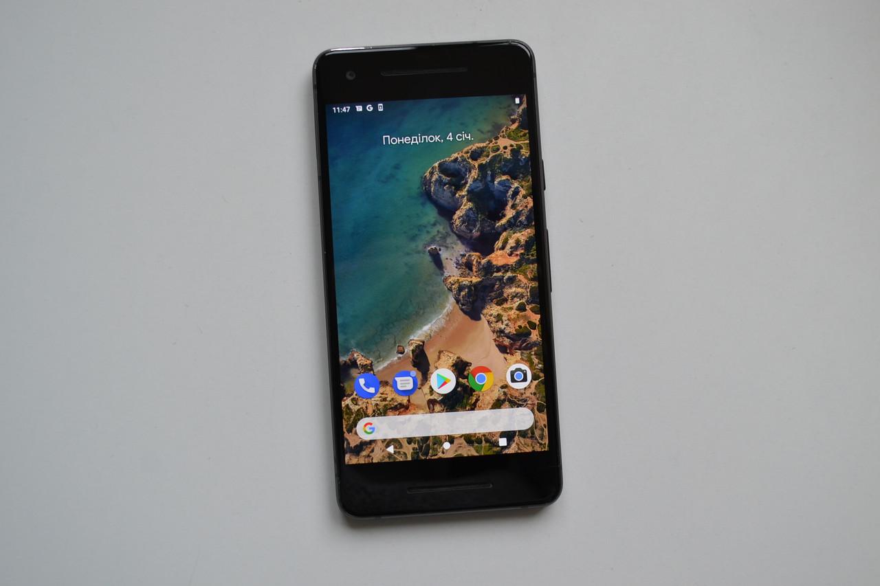 Смартфон Google Pixel 2 128Gb Just Black Оригінал!