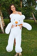 Большой медведь тедди 120 см белый