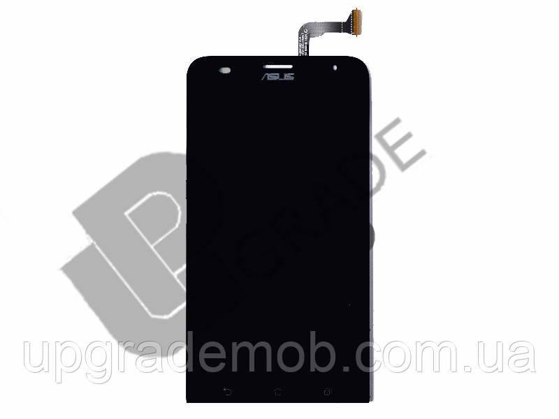 Дисплей Asus ZenFone 2 Laser ZE551KL с тачскрином модуль сенсор, черный, TM FHD