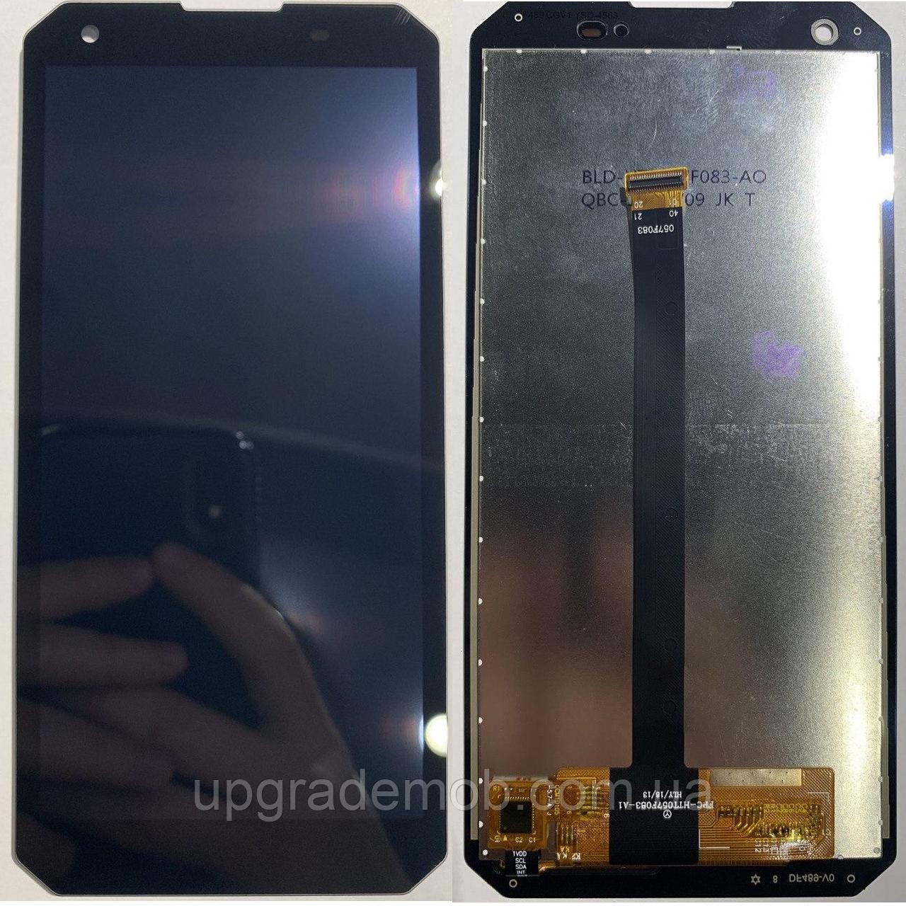 Дисплей Blackview BV9500/BV9500 Pro тачскрин сенсор модуль, черный