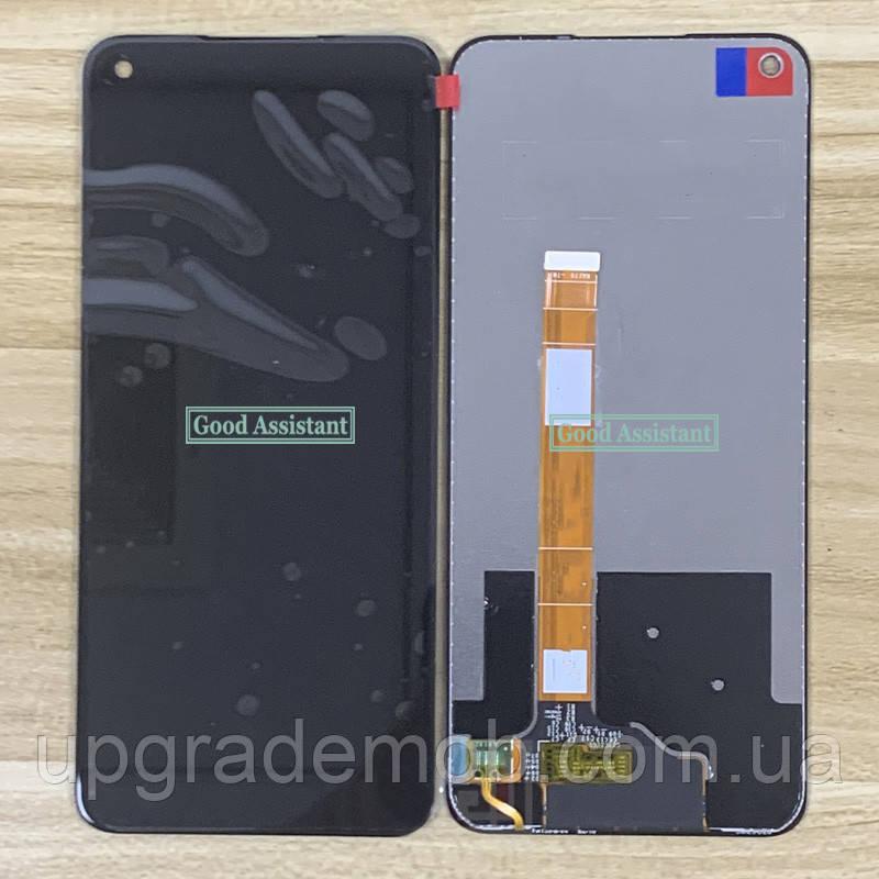 Дисплей Oppo A52/A72/A92; Realme 6 с тачскрином модуль сенсор, черный, originall