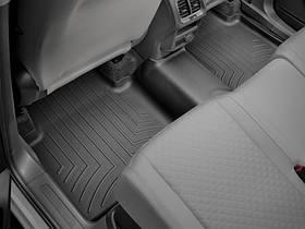 Килими гумові WeatherTech VW Tiguan Allspace 2017+ задній чорний