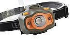 Налобный фонарь с датчиком движения 6603 XPE, фото 4